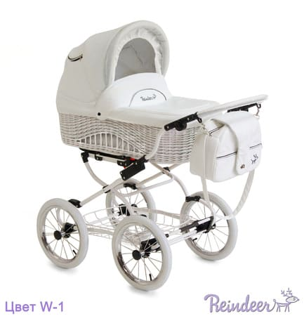 Коляска для новорожденных Reindeer Prestige Wiklina
